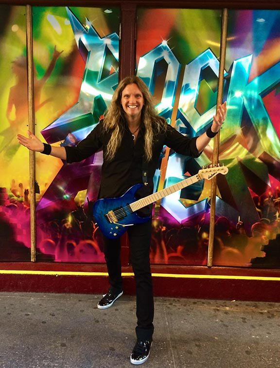 Joel Hoekstra Rock of Ages