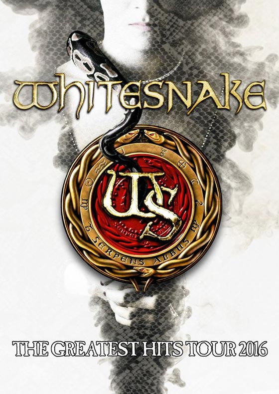 Whitesnake Greatest Hits 2016 Tour
